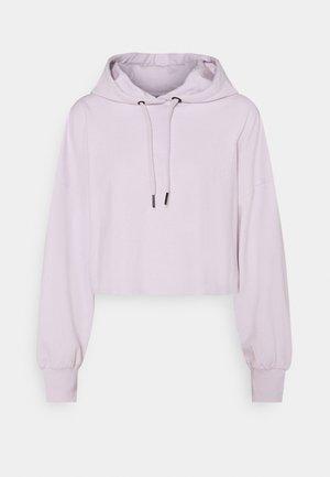 Jersey con capucha - lilac