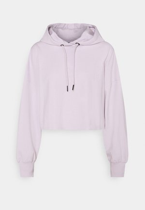 Felpa con cappuccio - lilac