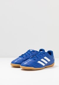 adidas Performance - COPA 20.4 IN - Halové fotbalové kopačky - royal blue/footwear white - 3
