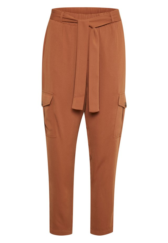 KACATHY  - Trousers - brown