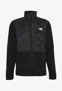 The North Face - TRAIN LOGO ZIP - Bluza - black/asphalt grey - 4