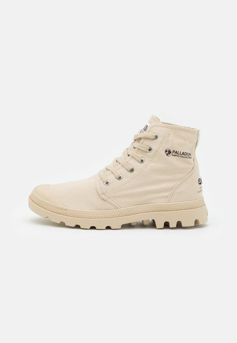 Palladium - PAMPA ORGANIC II UNISEX - Høye joggesko - light sand