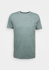 Hollister Co. - CREW - T-shirt z nadrukiem - sage - 4