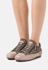 Candice Cooper - ROCK DELUXE ZIP - Trainers - tamponato/california stone/oliva - 0