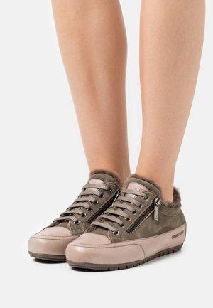 ROCK DELUXE ZIP - Sneakers - tamponato/california stone/oliva