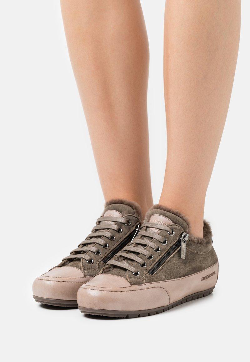 Candice Cooper - ROCK DELUXE ZIP - Trainers - tamponato/california stone/oliva