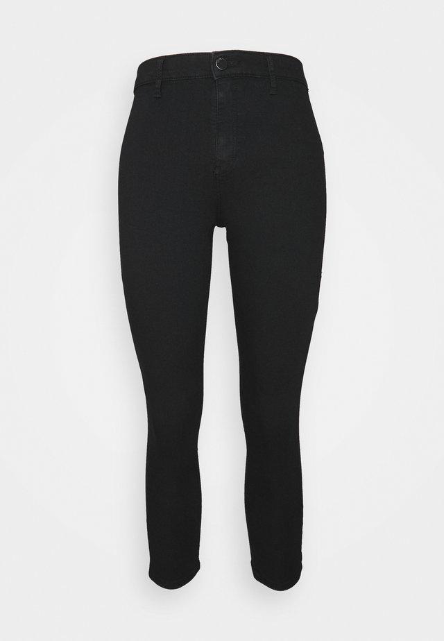 28' JONI - Trousers - black