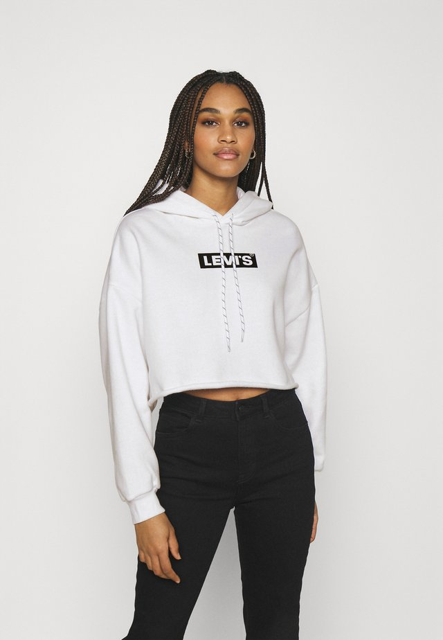 GRAPHIC CROP PRISM - Sweatshirt - youth new boxtab white