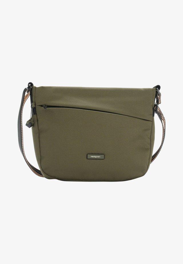 NOVA GRAVITY - Across body bag - earth green
