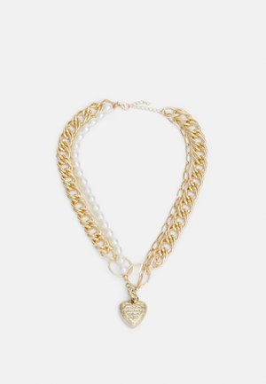 PCRYLEE COMBI-NECKLACE - Necklace - gold colour