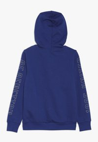 Benetton - SWEATER HOOD - Felpa con cappuccio - blue - 1