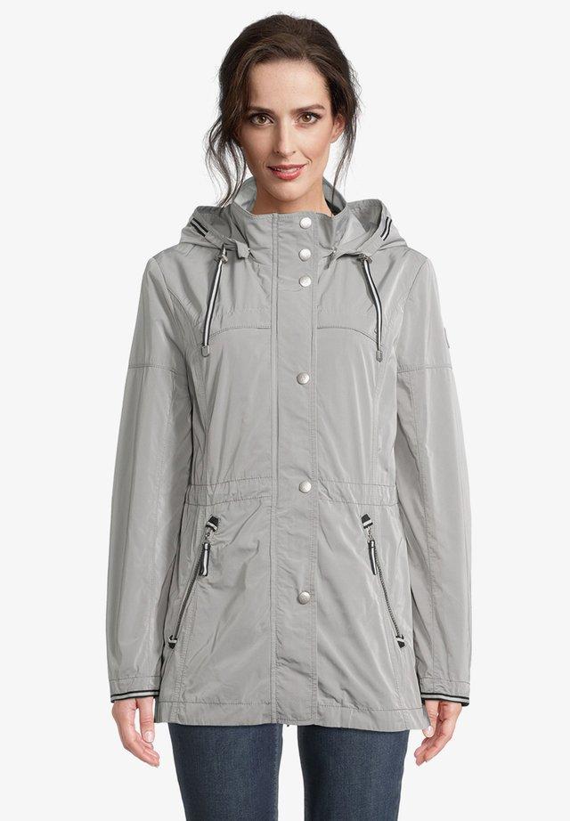 Summer jacket - neutral gray