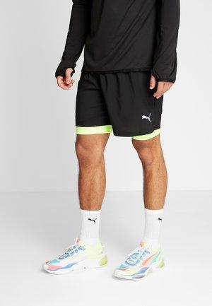 LAST LAP SHORT - Sports shorts - puma black/yellow alert