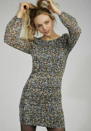 BETTY - Shift dress - blue