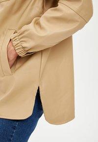 DeFacto - Waterproof jacket - beige - 3