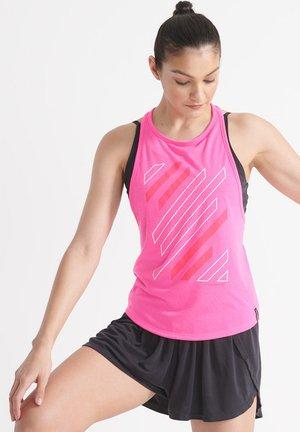FLEX TWIST BACK - Débardeur - bright pink