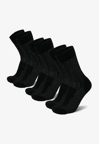 3 PACK - Strømper - black