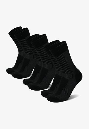 3 PACK - Strumpor - black