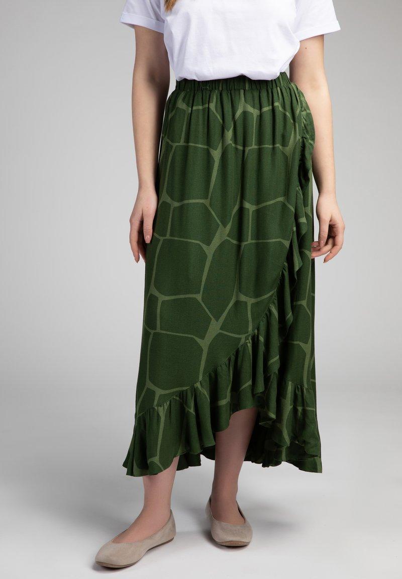 Girl Happens - Wrap skirt - grün