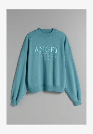 OVERSIZE - Sweatshirt - turquoise