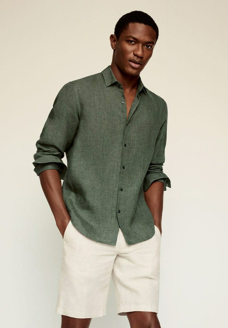 Mango - REGULAR FIT - Camicia - green