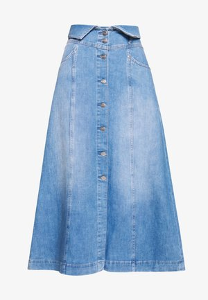BELL - Maxi skirt - denim
