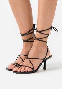 Office - MALIBU BEACH - T-bar sandals - black - 0