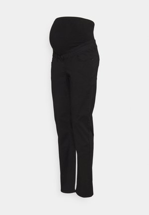 PANTS WORKER - Kangashousut - black