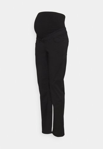 PANTS WORKER - Trousers - black