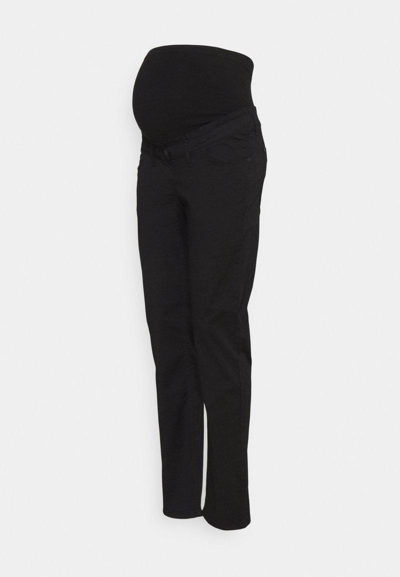 LOVE2WAIT - PANTS WORKER - Spodnie materiałowe - black