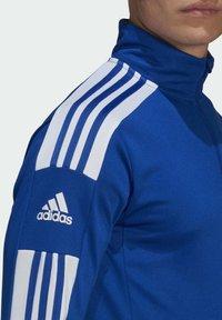 adidas Performance - Zip-up hoodie - blue - 4
