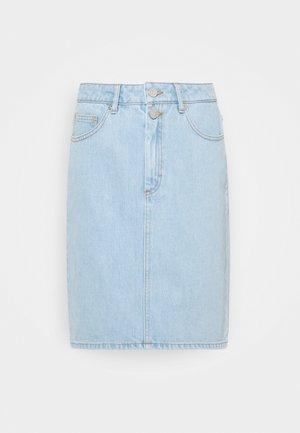 DACY SKIRT - Pencil skirt - light blue vintage