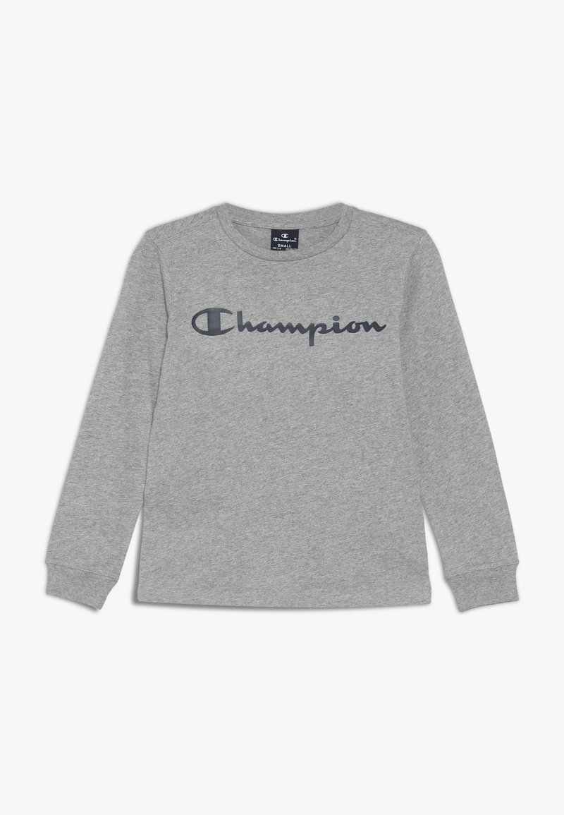 Champion - AMERICAN CLASSICS CREWNECK LONG SLEEVE - Pitkähihainen paita - mottled grey