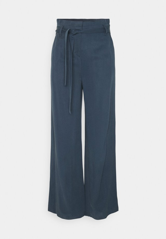 PAPERBAG PANTS - Broek - blue