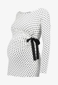 Envie de Fraise - SISSY - Topper langermet - off white/black - 3