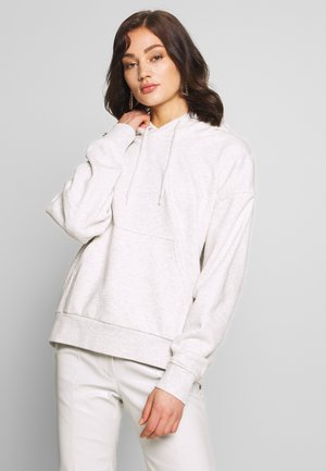 ALISA HOODIE - Bluza z kapturem - grey dusty light