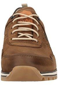 Fretz Men - Sznurowane obuwie sportowe - espresso - 5