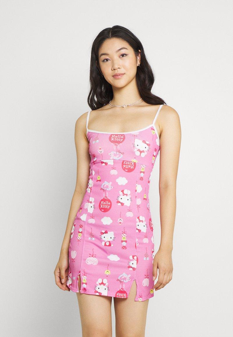NEW girl ORDER - YING YANGBALLOON DRESS - Day dress - pink