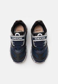 Geox - BOY - Trainers - navy/silver - 3