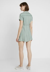 Obey Clothing - AMALFI DRESS - Shirt dress - pistachio - 3