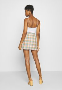 Monki - RIO SKIRT - A-line skjørt - yellow - 0