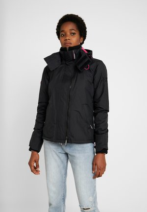 ARCTIC HOODED POP ZIP WINDCHEATER - Light jacket - black