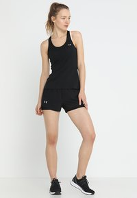 Under Armour - RACER TANK - Treningsskjorter - black - 1