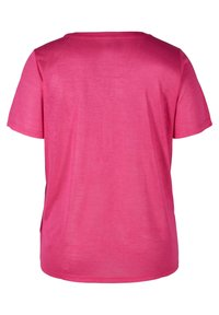 Zizzi - Basic T-shirt - pink - 4