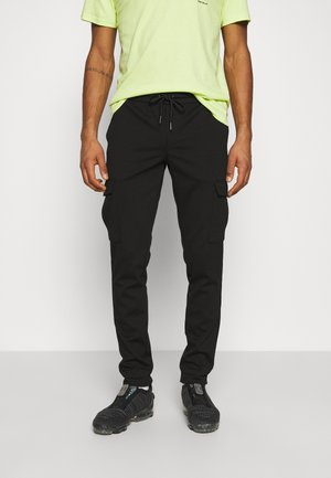 JJIWILL JJPHIL - Tracksuit bottoms - black