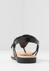 Grand Step Shoes - FLORA - T-bar sandals - black - 5
