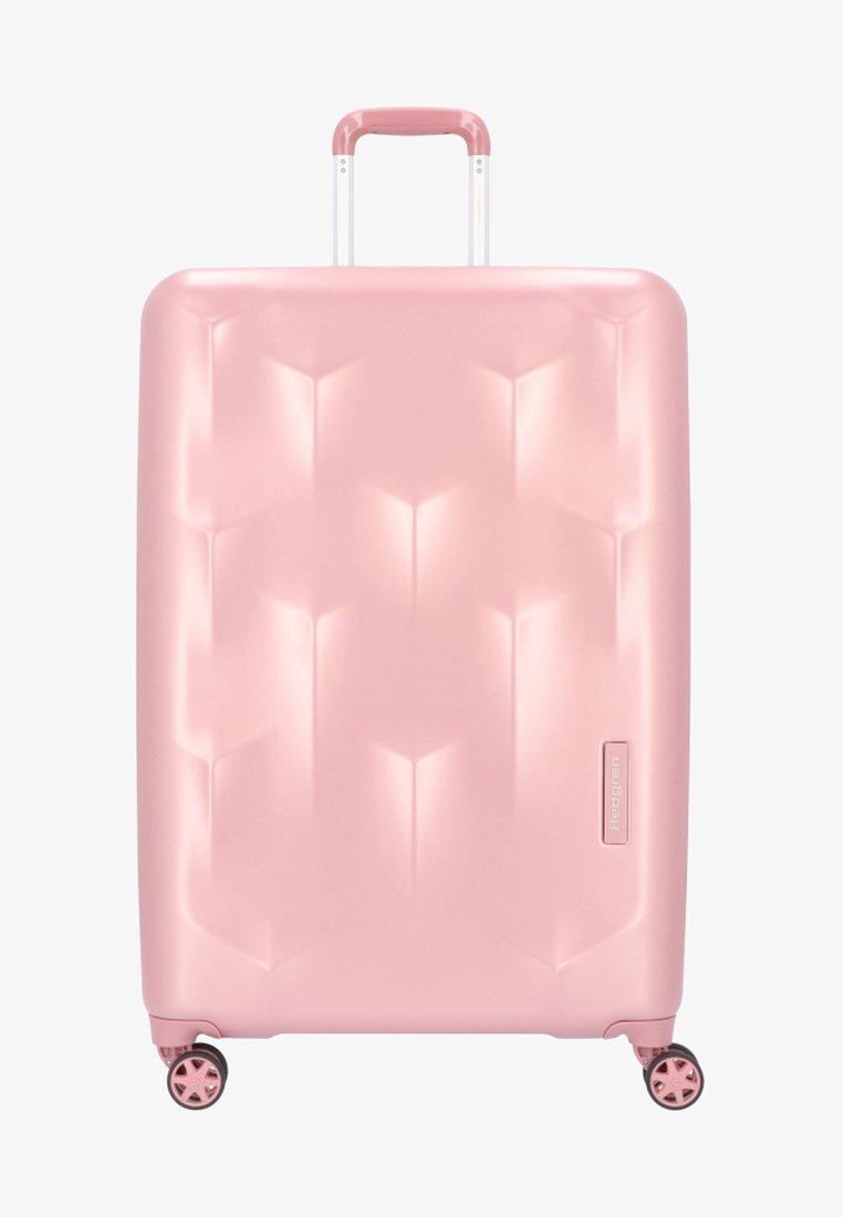Hedgren - EDGE CARVE - Wheeled suitcase - blush