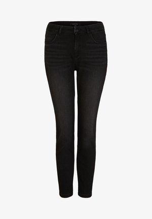 MIT WASCHUNG - Jeans Skinny Fit - black