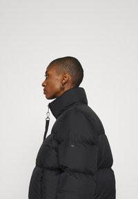 Marc O'Polo - PUFFER JACKET SHORT STAND UP COLLAR ZIPP - Down jacket - black - 3