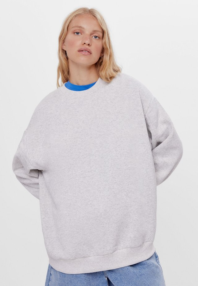 Sweatshirt - light grey